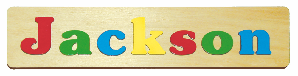 Wooden Name Puzzles For Children