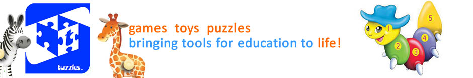 Tuzzles Wooden Jigsaw Puzzles and Games For Kids