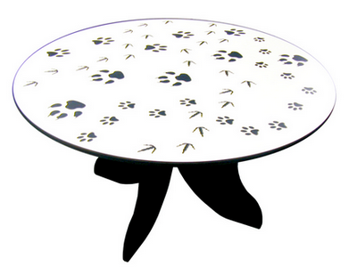 Footprints Table