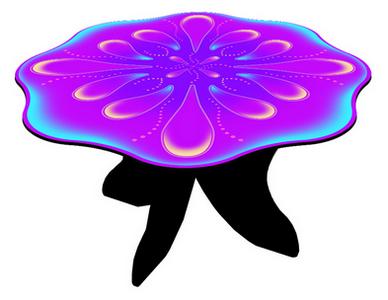 Fairy Table - Purple