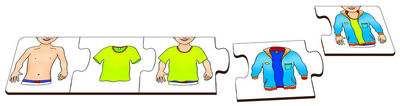 Shirt & Jacket - Table Puzzle