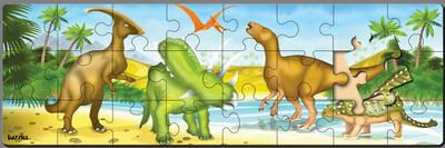 Dinosaur Freize Dinosaur Jigsaw Puzzle