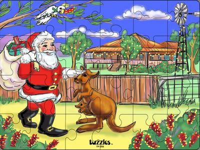 Santa in the Outback