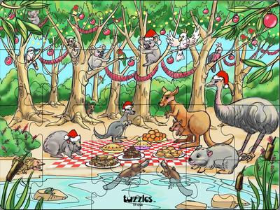 Australian Animal Christmas