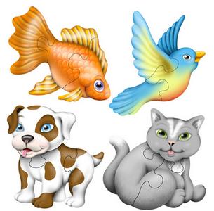 House Pets Set of 4