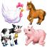 Farm Pets Set of 4