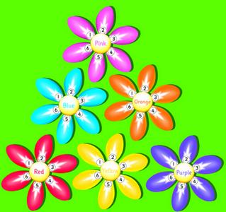Flower Bag Set of 6