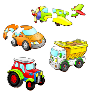 Vehicles Set 1