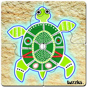 Aboriginal Art Tuzzles Wooden Jigsaw Puzzles And Games