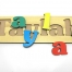 Personalized Name Puzzle - 3 Letters by Tuzzles