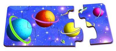 Planets Sequencing - Table Puzzle