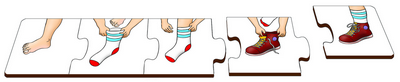 Sock and Shoes - Table Puzzle
