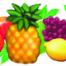 Fruit in a Row Freize