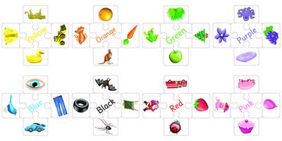Colour Matching Squares Set 3 (set of 8)