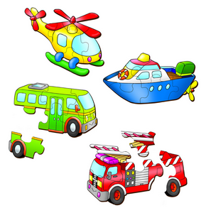 Vehicles Set 2